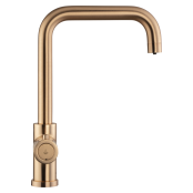 3 in 1 Kokend Water Kraan <br /> Brushed Copper Gold - Haaks